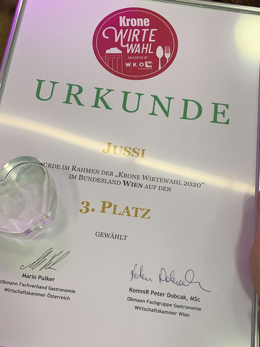 Jussi Wien | Krone Wirtewahl 2020
